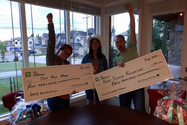 TD Canada launches nation wide campaign #TDThanksYou