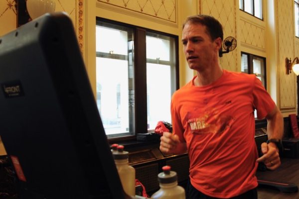 CTV News – Running for those who can't : Okotoks man challenges world treadmill record